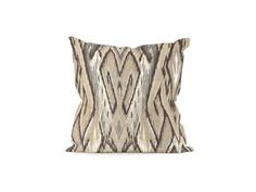 "Shop for Howard Elliott 16"" Pillow Ikat Stone, 1-197, and other Accessories at The Hanley Collection in Spokane, WA. Change up color themes or add pop to a simple sofa or bedding display by piling up the pillows in a multitude of colors, textures and patterns."
