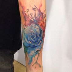 Water collor Tattoo