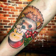 Hedgehog Tattoo