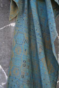 Lawilde Labradorite Bedouin Wrap (silk, linen) - sold