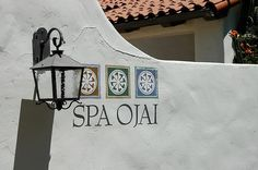 #Spa Ojai. An internationally-renowned wellness destination nestled in the Ojai valley outside of Santa Barbara, The Oaks at Ojai is one of the most affordable destination spas in Southern California. The all-inclusive retreat center features nature hikes, a full-service spa, sauna and hot tubs, yoga, healthy spa cuisine and more.