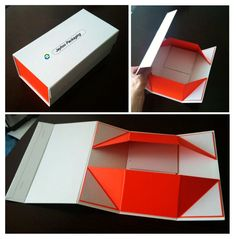 Check out our new #design of #giftbox, it's a normal rigid paper box, but we…