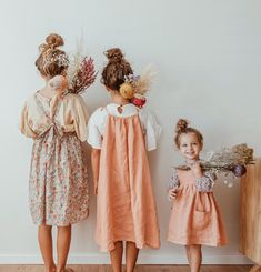 Stylish minis in linen and Liberty from Nellie Quats collection Family Outfits, Kids Outfits, Little Girl Fashion, Kids Fashion, Cool Kids Clothes, Future Maman, Future Daughter, Toddler Girl Outfits, Stylish Kids