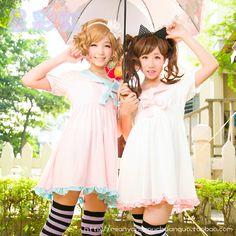 Star Rainbow Original flouncing ladies 2013 new hit color ice cream crew neck dress Stock - Taobao
