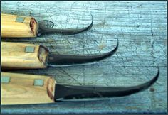 crooked knives w sawmill bandsaw steel