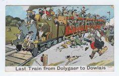 Dolygaer to Dowlais  Last Train Merthyr Tydfil railway . we just know how to have fun