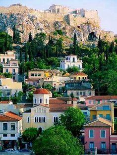 Athens'  landmark the breathtaking Acropolis!