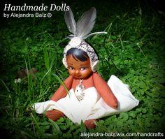 Taino inspired little doll.
