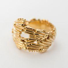 Large Kelp Crown Ring. — Sarah Brown Jewellery