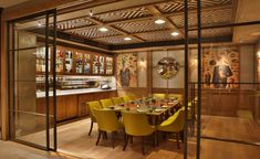 9 Striking Restaurant Interior Design Projects Worth A Visit In London Private Dining Room, Luxury Dining Room, Dining Rooms, Restaurant Furniture, Restaurant Interior Design, Dining Decor, Dining Room Design, Room Hire, Room London