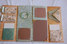 file folder scrapbook, I've made a couple of these for gifts and they've worked great