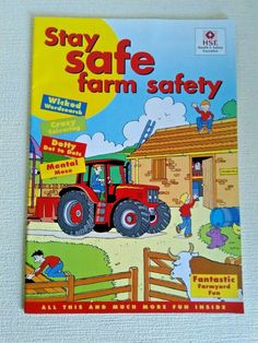 Stay Safe Farm Safety by H.S.E. Fantastic Farmyard Fun Booket, Poster & Stickers Farm Yard, Stay Safe, Booklet, More Fun, Safety, Amp, Stickers, Poster, Ebay