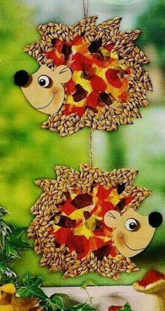 Úgy gondoljuk, tetszenének neked ezek a pinek - wkriszti69@gmail.com - Gmail Autumn Crafts, Fall Crafts For Kids, Autumn Art, Thanksgiving Crafts, Art For Kids, Fall Preschool, Preschool Crafts, Fete Halloween, Halloween Crafts