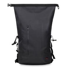 "http://rubies.work/1037-ruby-rings/ Cromwell Men's 15"" Roll Top Backpack - Black | KNOMO"