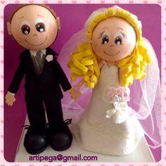 Fofuchos personalizados, detalle para bodas