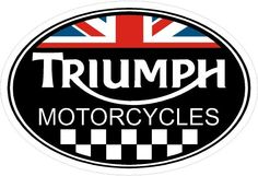 Triumph Motorcycle Flange Garage Shop Oval Sign 12 x 18 24 Gauge Metal, USA Made Vintage Style Retro Garage Art by HomeDecorGarageArt on Etsy Motorcycle Decals, Motorcycle Logo, Motorcycle Posters, Motorcycle Style, Triumph Bonneville, Triumph Motorbikes, Triumph Motorcycles, Triumph Chopper, Triumph Rocket