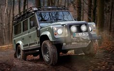 2012 Land Rover Defender Blaser Edition