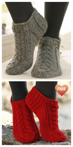 Cable Knit Socks, Cable Knitting, Knitting Stitches, Knitting Socks, Knitted Socks Free Pattern, Knitting Patterns Free, Knit Patterns, Free Knitting, Knitted Afghans