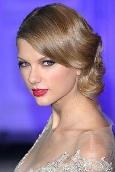"""""""""""Las famosas mejor maquilladas de 2013 - Taylor Swift"""