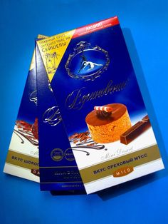 Russia Vdohnovenie Classic Dark and Dessert Chocolate Three Types 3x100 GR | eBay