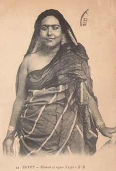Vintage Pictures of Ancient Egypt - Women of Upper Egypt Vintage Photos Women, Vintage Pictures, Old Pictures, Old Photos, Rare Photos, Old Egypt, Ancient Egypt, Egyptian Women, Egyptian Fashion