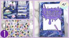Create this Book Episode (Moriah Elizabeth) Art Journal Prompts, Journal Ideas, Book Pages, Book 1, Sketchbook App, Create This Book, Drawing Prompt, Arts And Crafts, Paper Crafts