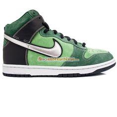 the best attitude 7c981 34802 Trendy Nike Dunk High Pro SB Brut Green Shoes - 109.99