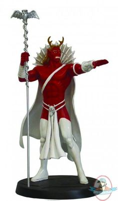 DC Superhero Figurine Collection Magazine Spec Trigon Eaglemoss | Man of Action Figures