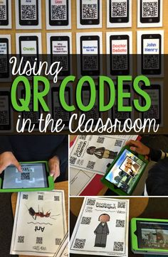 Using QR Codes in the classroom is great fun. Find out some tips and tricks on how to use them effectively to engage students in research and learning. (Tech Tips Qr Codes) Teaching Technology, Technology Tools, Technology Integration, Educational Technology, Teaching Resources, Business Technology, Technology Posters, Instructional Technology, Instructional Strategies