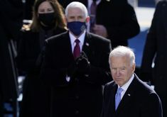"""More Americans believe Joe Biden """"very responsible"""" for Capitol riot than Mike Pence: Poll Inauguration Ceremony, Mike Pence, News Magazines, Former President, Joe Biden, Current Events, Donald Trump, No Response, Presidents"""
