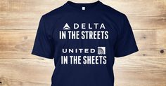 Discover Delta In The Street United In The Sheets T-Shirt, a custom product made just for you by Teespring. With world-class production and customer support, your satisfaction is guaranteed. - Delta In The Streets United In The Sheets