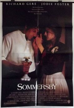 SOMMERSBY - RICHARD GERE / JODIE FOSTER - ORIGINAL AMERICAN 1SHT MOVIE POSTER