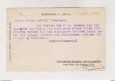 Covers & Documents - AUSTRIA CZECH REPUBLIC 1911 SCHOLLSCHITZ ZELESICE postcard Postcards For Sale, Collectible Cards, Office Items, Video Film, Old Paper, Czech Republic, Austria, Stamp, This Or That Questions