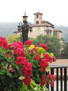 The Broadmoor in Colorado Springs, CO ~ my sweet Sister Susan took me to this fabulous Broadmoor Hotel for a birthday lunch!  <3