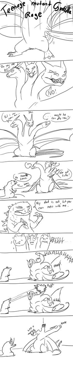 Godzilla comic