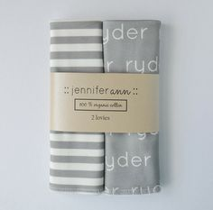 Great Personalized swaddle blankets as a baby shower gift