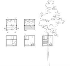 Tree Hotel By Tham & Videgård Arkitekter - Dezeen | Cabin_xs ... Glas Fassade Spiegelfassade Baumhaus