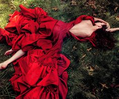 red dress.  please.