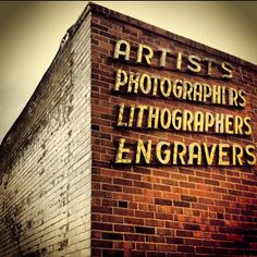 Artists Photographers Lithographers Engravers