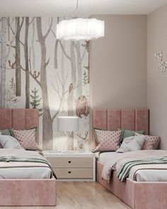 Luxury Bedroom Design, Room Design Bedroom, Room Ideas Bedroom, Home Room Design, Small Room Bedroom, Baby Room Decor, Home Decor Bedroom, Master Bedroom, Small Rooms