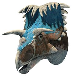 Kosmoceratops, Late Cretaceous (76.4-75.9 Ma), Discovered by Sampson et al - 2010
