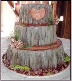 Great cake..would do brighter colored flowers though