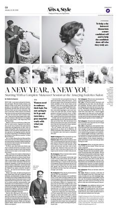 A New Year, a New You—Starting With a Complete Makeover Session at the Amazing Federico Salon|Epoch Times #Style #Beauty #newspaper #editorialdesign