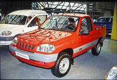 Вазовскими дизелями оснащали самые разные прототипы, в том числе ВАЗ‑23235 - пикап на базе будущего вседорожника Шевроле Нива.