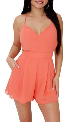 Soft Curves (Coral)-Great Glam is the web's best online shop for trendy club styles, fashionable party dresses and dress wear, super hot clubbing clothing, stylish going out shirts, partying clothes, super cute and sexy club fashions, halter and tube tops