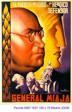 Spain - 1937. - GC - poster - Parrilla