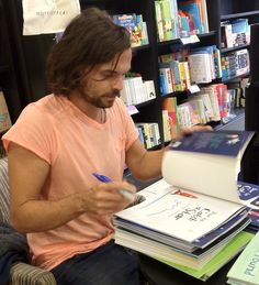 A Signing With Oliver Jeffers 26/09/12