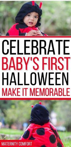 Baby's First Halloween tips and ideas to make the holiday special and stress-free for you and your baby! #halloween #baby #babysfirsthalloween #babybooks #holidays #fall