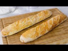 Reteta Bagheta frantuzeasca - JamilaCuisine - YouTube Baby Food Recipes, Bread Recipes, Baking Recipes, Focaccia Bread Recipe, Baguette, Braided Bread, Cooking Bread, Pita, Good Food