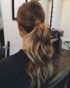 This ponytail Crafted to perfection by @_hairbygabrielle #ghdhair #hairgoals
